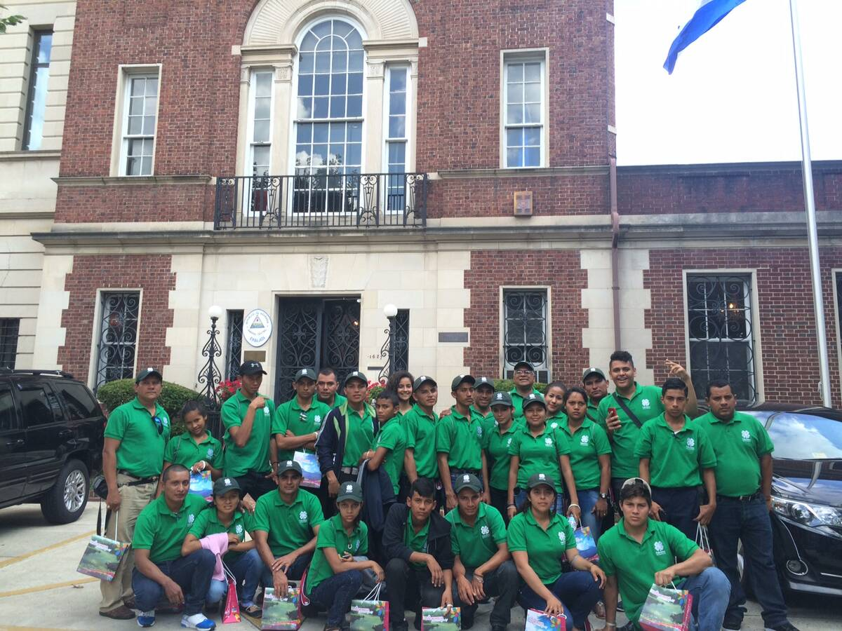 SAT students visit Nicaraguan Embassy in Washington, DC.