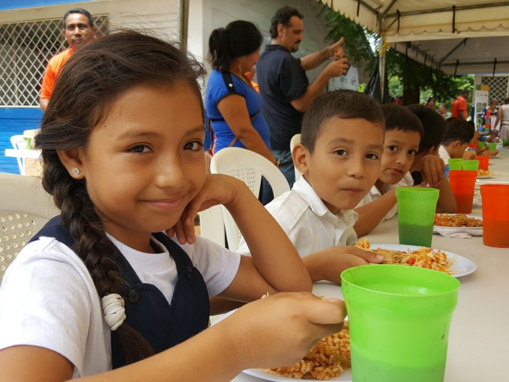 this world food day cargill nicaragua celebrated with students and their families at the san pedro apostol school in the municipality of ticuantepe - World Central Kitchen