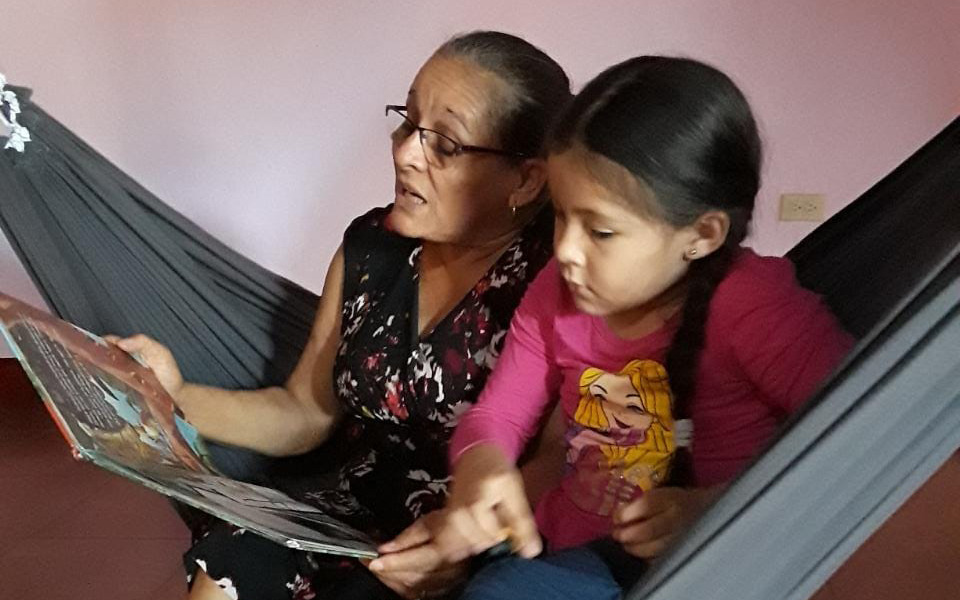 Family Reading to Strengthen Literacy